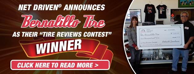 Tire Review Contest Winner