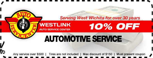 10% OFF Auto Service