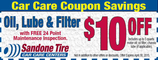 $10 Off Oil Lube and Filter