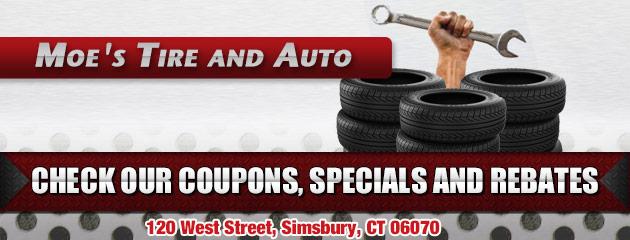 Moes Tire and Auto, LCC Savings