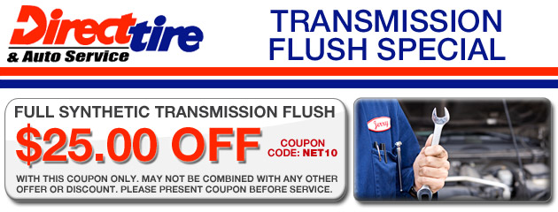 $25 Off Transmission Flush