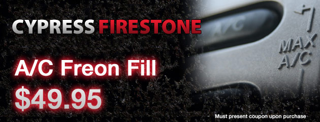 AC freon fill special