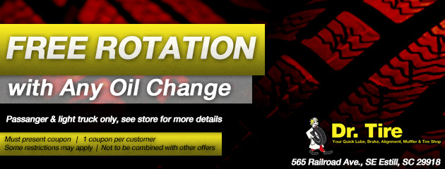 Free Rotation with Any Oil Change