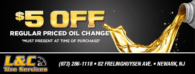 $5 off regularly priced oil change