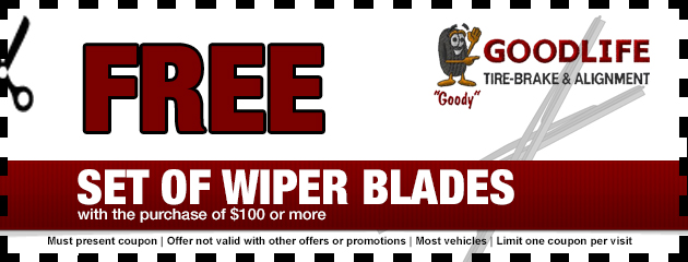 Free Set of Wiper Blades