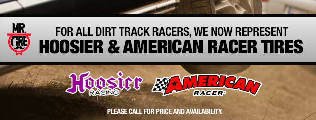 Hoosier and American Racer Tires