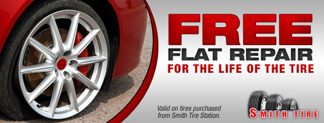 Free flat repair