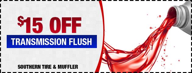 $15 OFF Transmission Flush