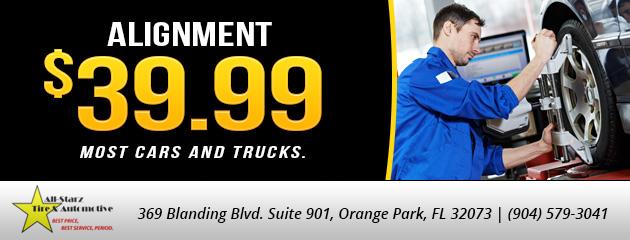 $39.99 alignment