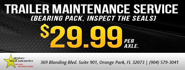 Trailer Maintenance Service