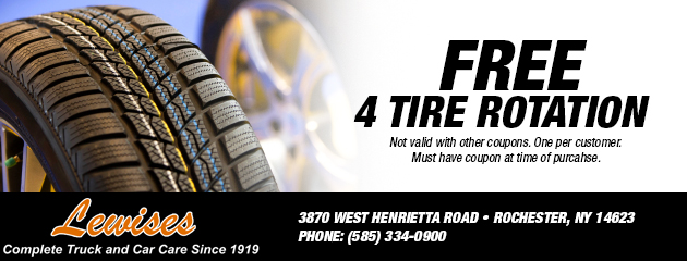 Free 4 Tire Rotation