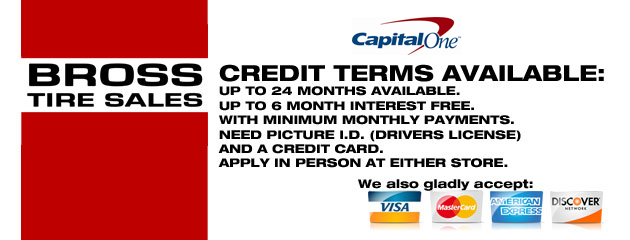 Credit terms slider