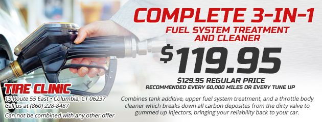 Complete 3-in-1 Fuel System Treatment and Cleaner