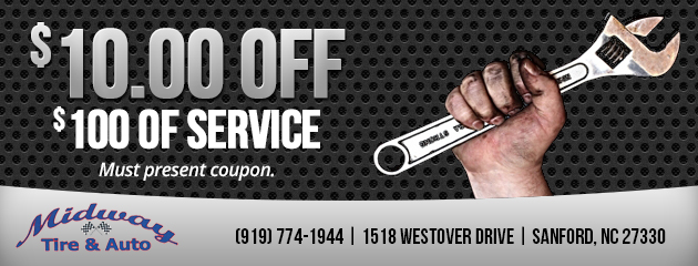 $10 Off Service of $100