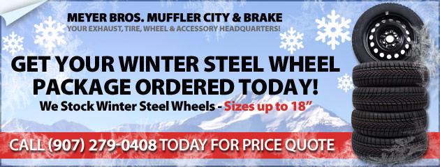 Winter Steel Wheels