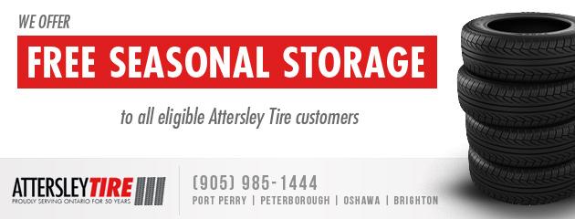 Free Seasonal Storage