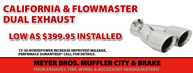 Flowmaster Dual Exhausts