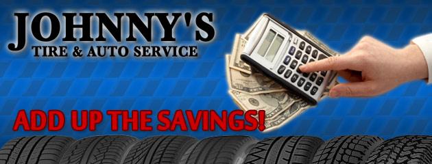 Johnnys Tire & Auto Service Savings