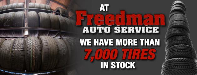 Freedman Auto Service - Tires