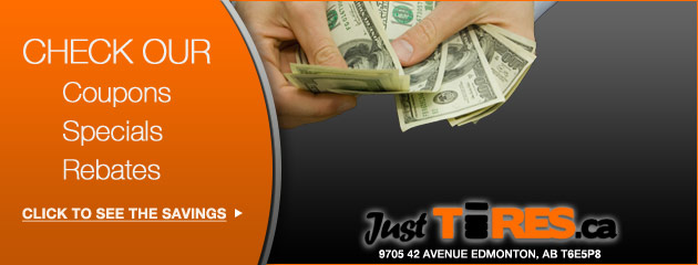 JustTires ca Savings