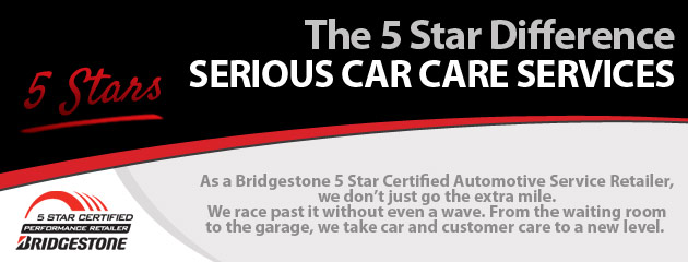 The Bridgestone 5 Star Difference