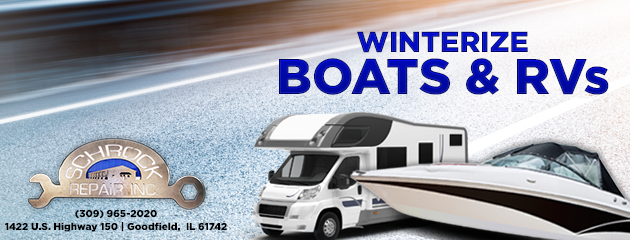 Winterize Your Boats and RVs