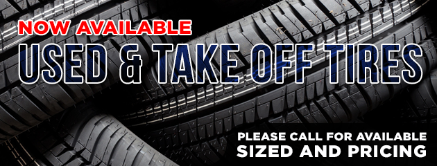Used & Take Off Tires