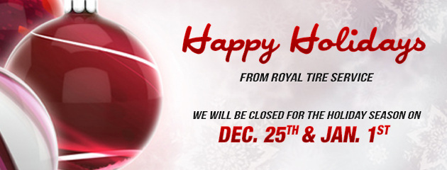 Holiday Hours - Closed