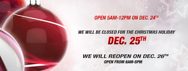 Holiday Hours1
