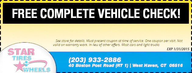 Free Complete Vehicle Check