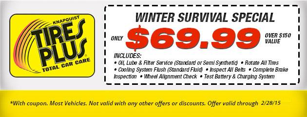 Winter Survival Special
