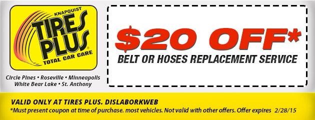 Belt and Hoses Service