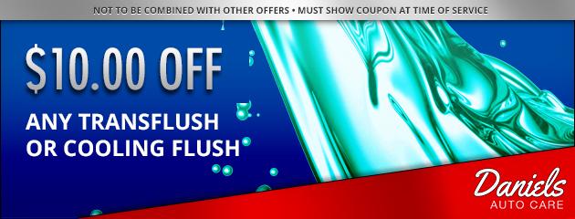 Trans/Coolant Flush