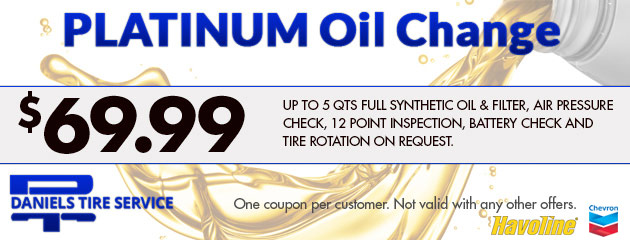 Plantinum Oil Change