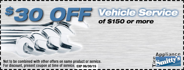 $30 Off Vehicle Service