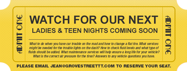 College/Teen Night Crash Course
