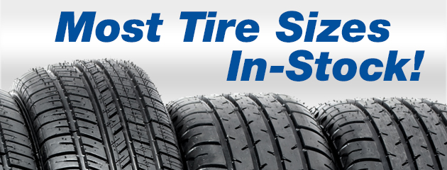 Tire Sizes In Stock