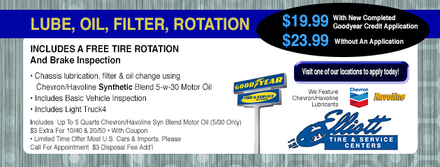 Lube Oil Filter Rotation