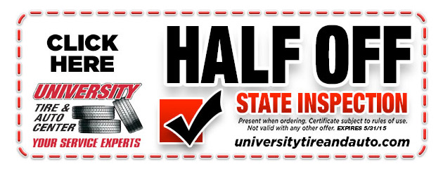 Half Off State Inspection