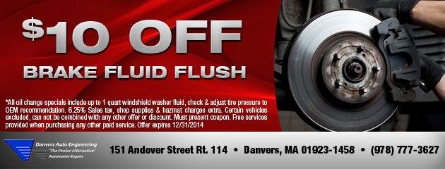 Brake Fluid Flush