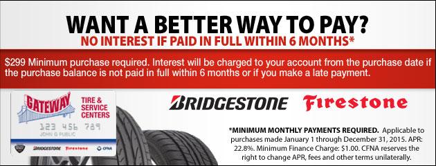 Gateway Tire Bridgestone CFNA