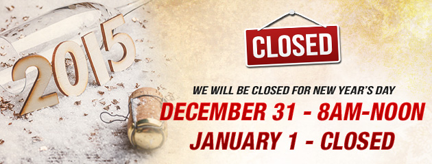 New Years Eve Noon Holiday Hours