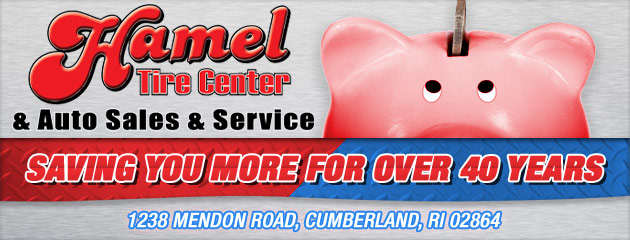 Hamels Tire Center Savings