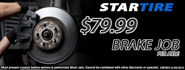 $79.99 Brake Job