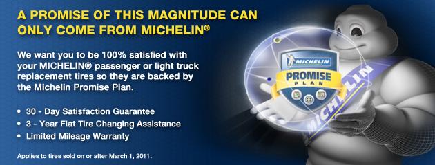 Michelin Promise Plan
