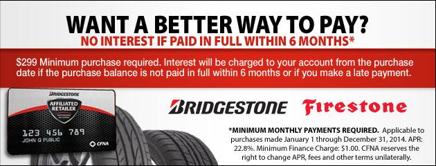 Bridgestone CFNA 2014