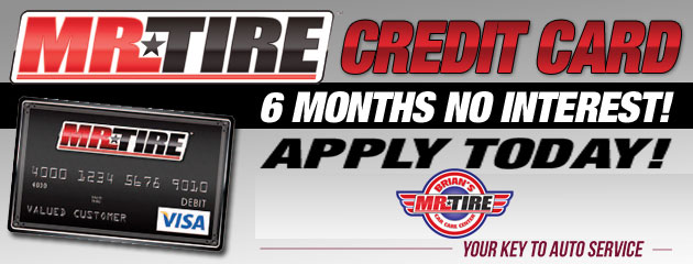 Mr. Tire Credit Cards