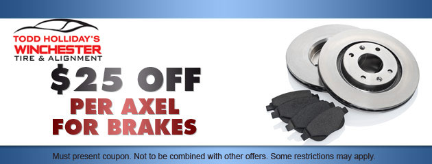 $25 OFF Brakes