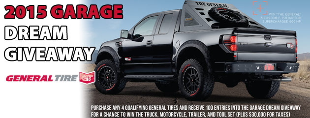 General Garage Dream Giveaway