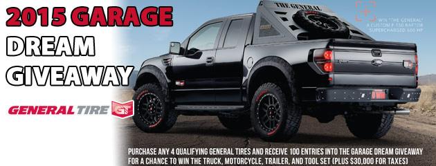 General Garage Dream Giveaway